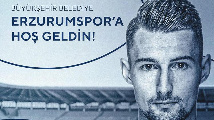 Büyükşehir Belediye Erzurumspor, Kosovalı futbolcu Elba Rashani'yi transfer etti