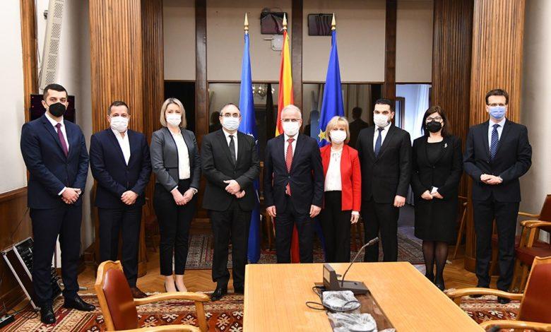 Yeni Devlet Seçim Komisyonu Başkanı Daştevski açıklamalarda bulundu