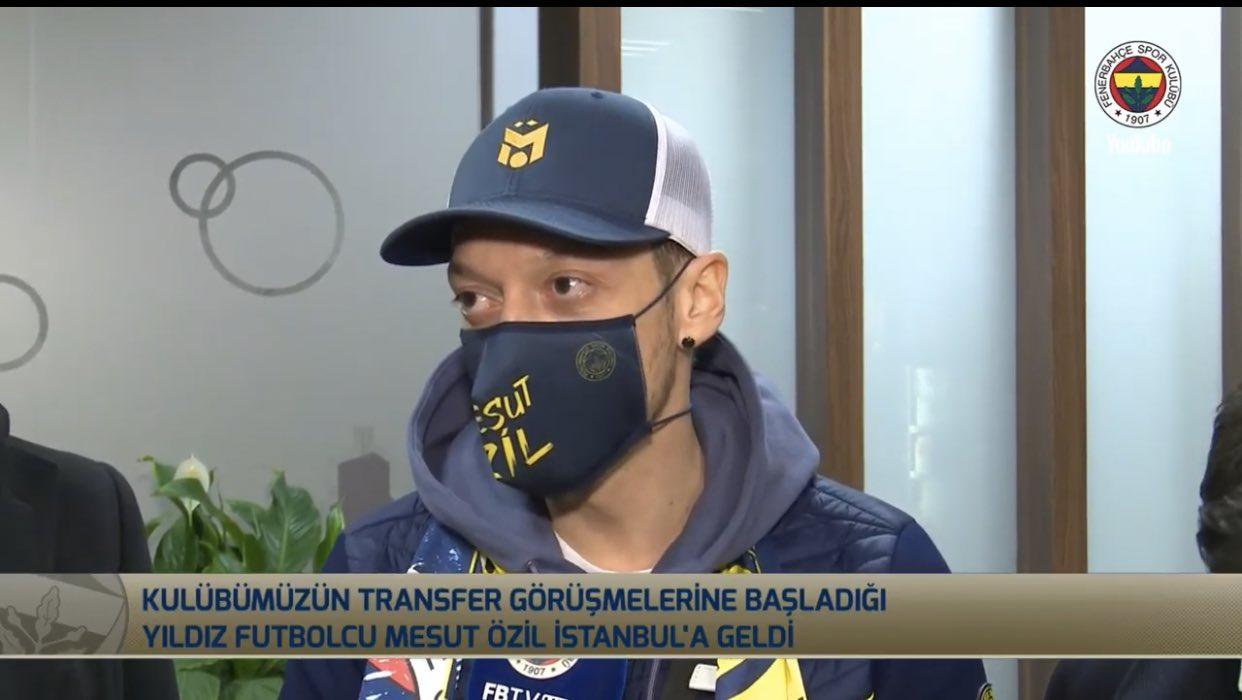 Fenerbahçe'nin yeni transferi Mesut Özil İstanbul'da