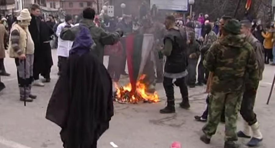 Pendarovski: Bulgaristan bayrağının yakılması kabul edilemez