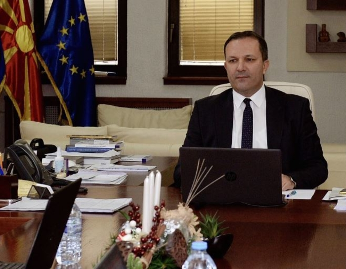 İçişleri Bakanı Spasovski, Vevçani'deki olaylar hakkında konuştu