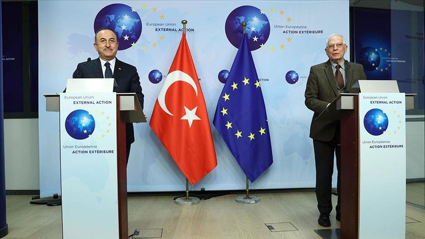 Çavuşoğlu: Türkiye-AB ilişkilerinde pozitif atmosferin oluşturulması önemli