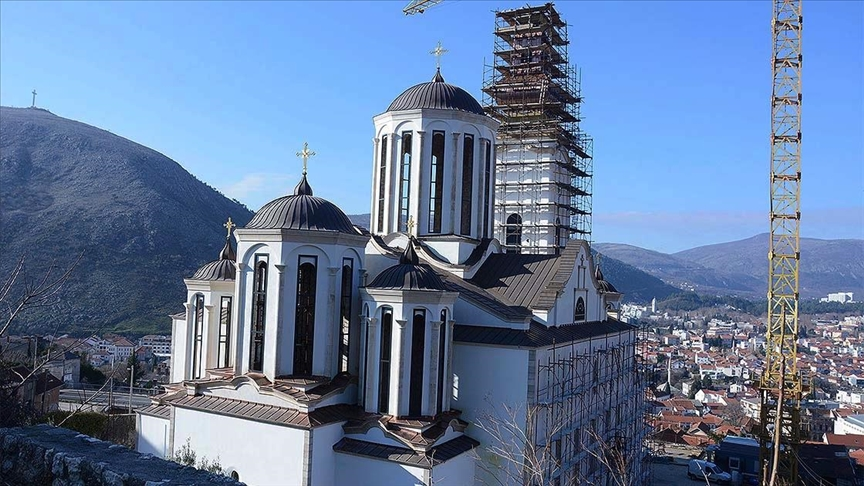 Bosna'daki savaşta mayınlanan kilise, yeniden dinler arası hoşgörünün sembolü oldu