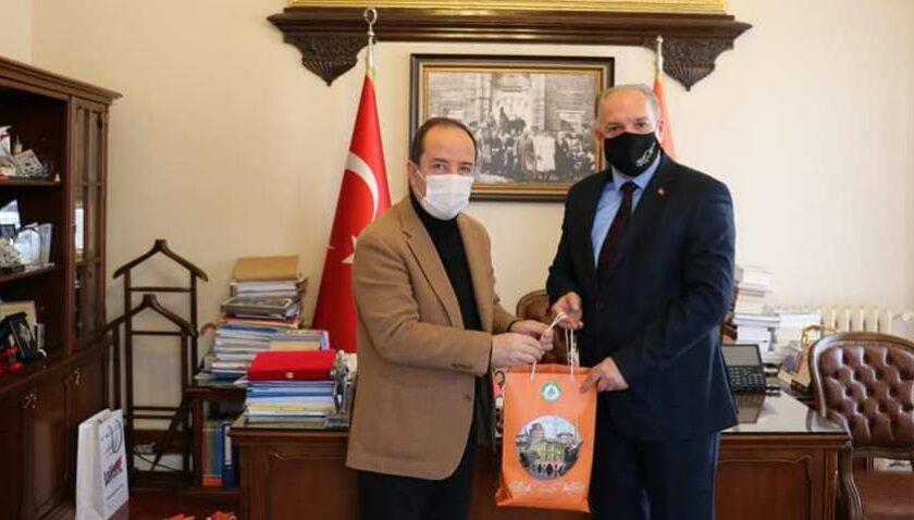 KDTP Genel Başkanı Damka, Edirne Belediye Başkanı ile görüştü