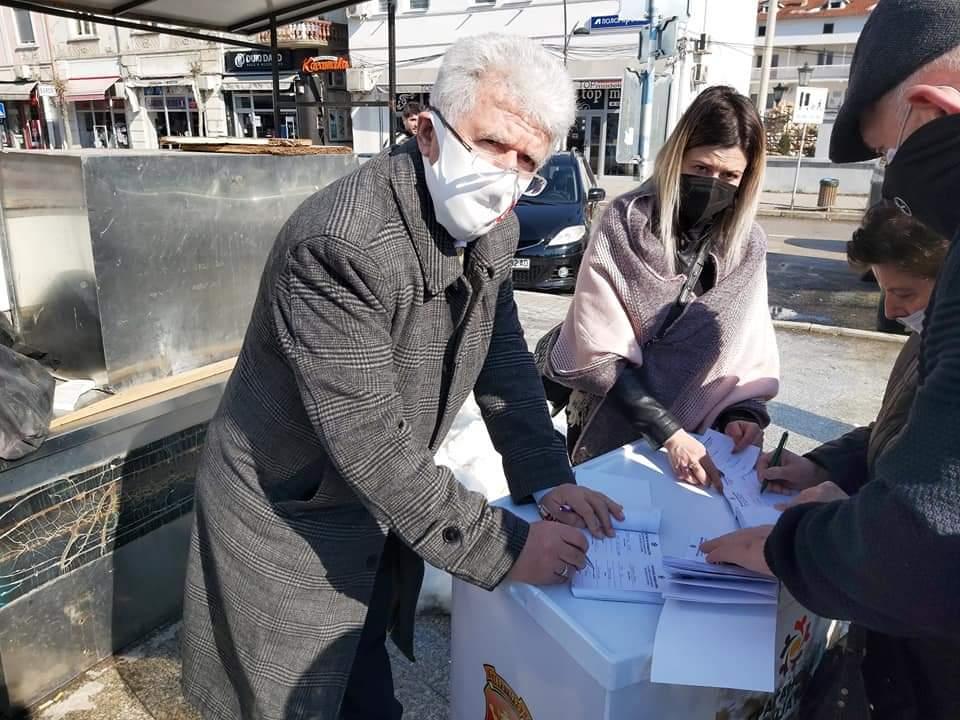 Erdoğan Saraç'tan VMRO DPMNE'nin imza kampanyasına destek
