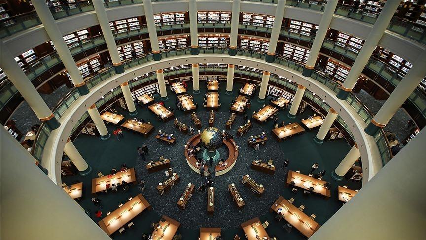 Türkiye Cumhurbaşkanlığı Millet Kütüphanesi'ni 1 yılda yaklaşık 342 bin kişi ziyaret etti