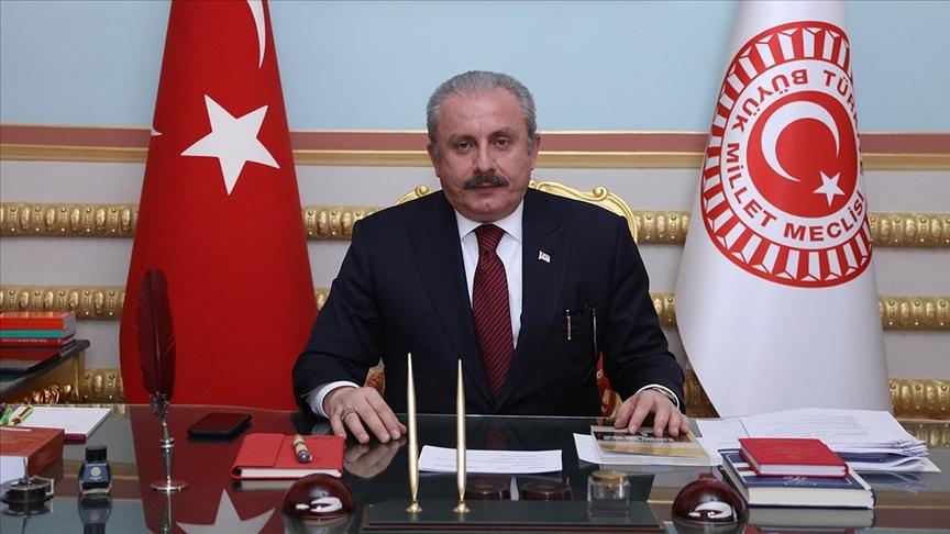 TBMM Başkanı Şentop: Kosova'nın bağımsızlığı Balkanlar'daki istikrar ve barış için olmazsa olmaz bir husustur
