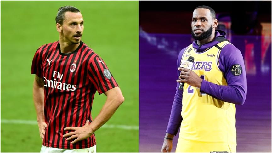 LeBron James ile Zlatan Ibrahimovic arasında polemik büyüyor