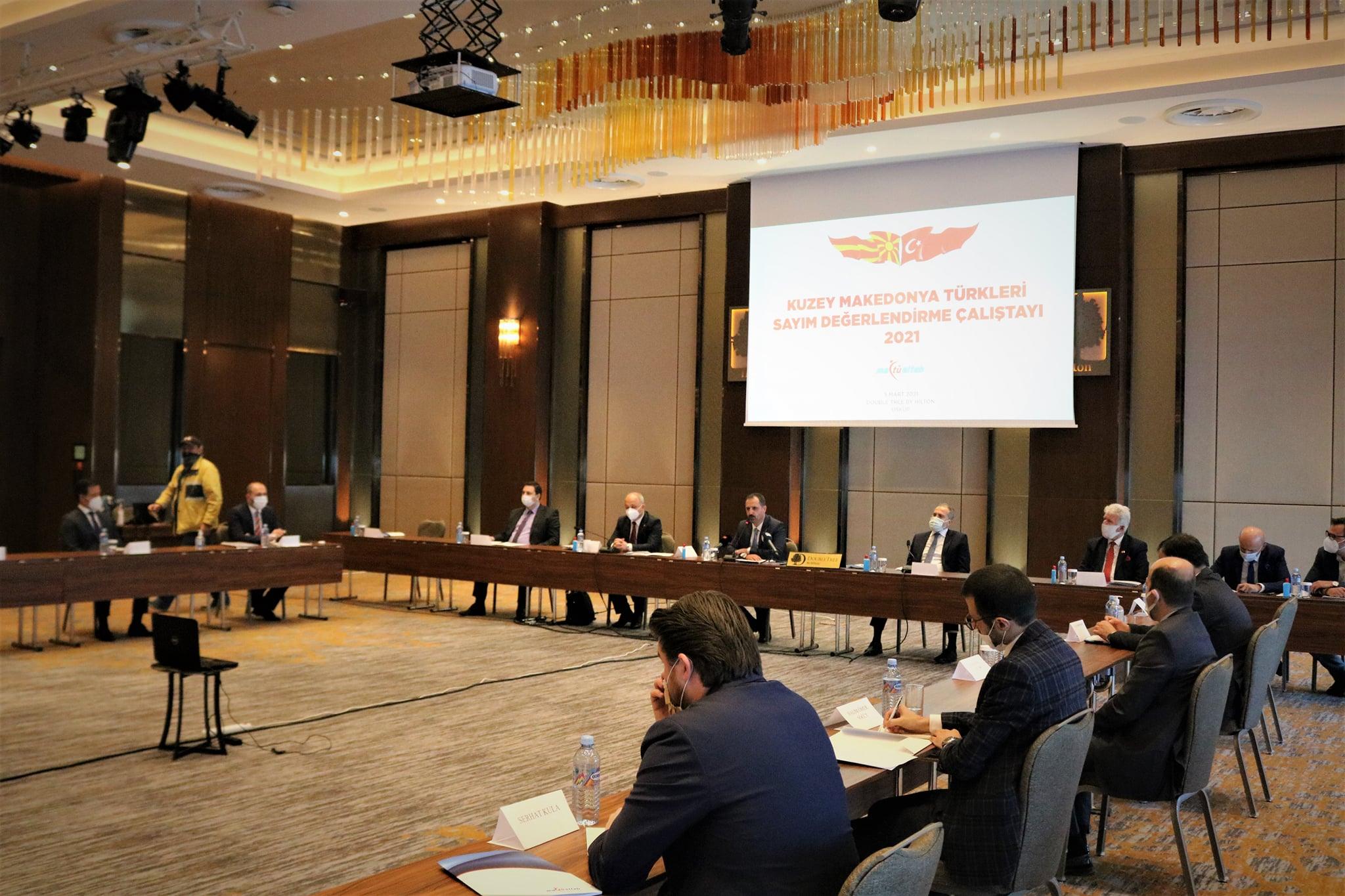 K. Makedonya Türklerinin tarihi çalıştayının sonuç bildirgesi açıklandı