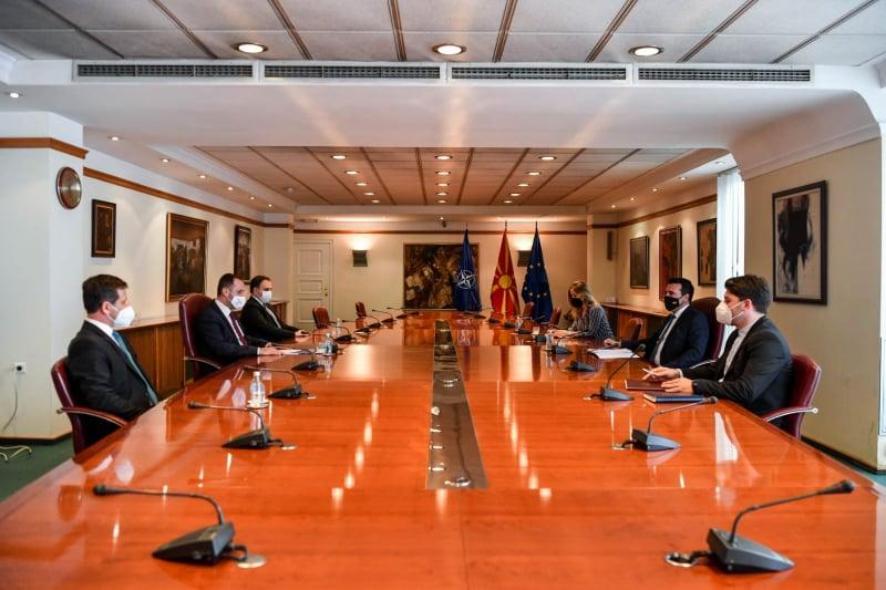 MATÜSİTEB heyeti Başbakan Zaev ile nüfus sayımını görüştü