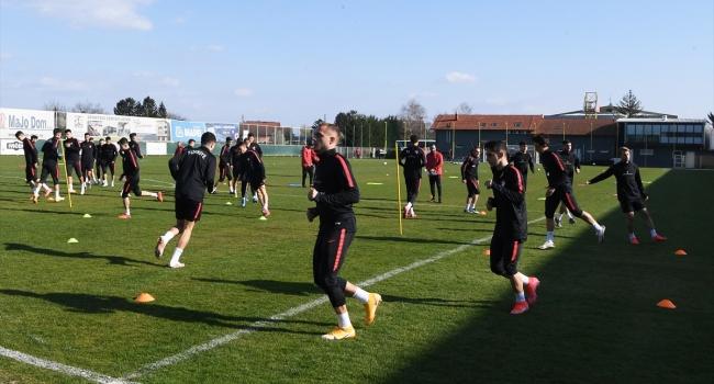 Türkiye Ümit Milli Takımı, Hırvatistan maçına hazırlanıyor