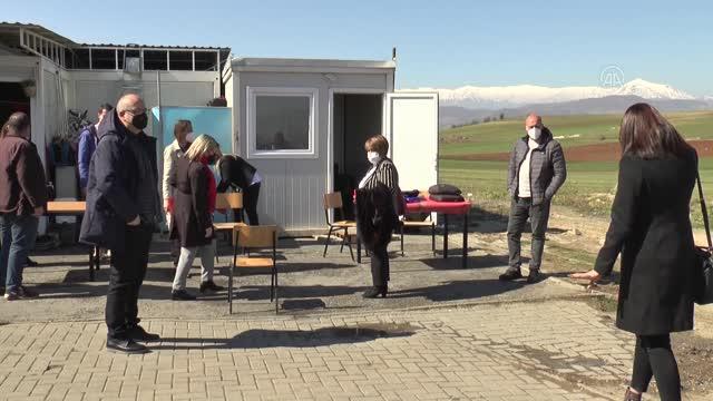 Kuzey Makedonya'da evsizlerin sayımına devam ediliyor