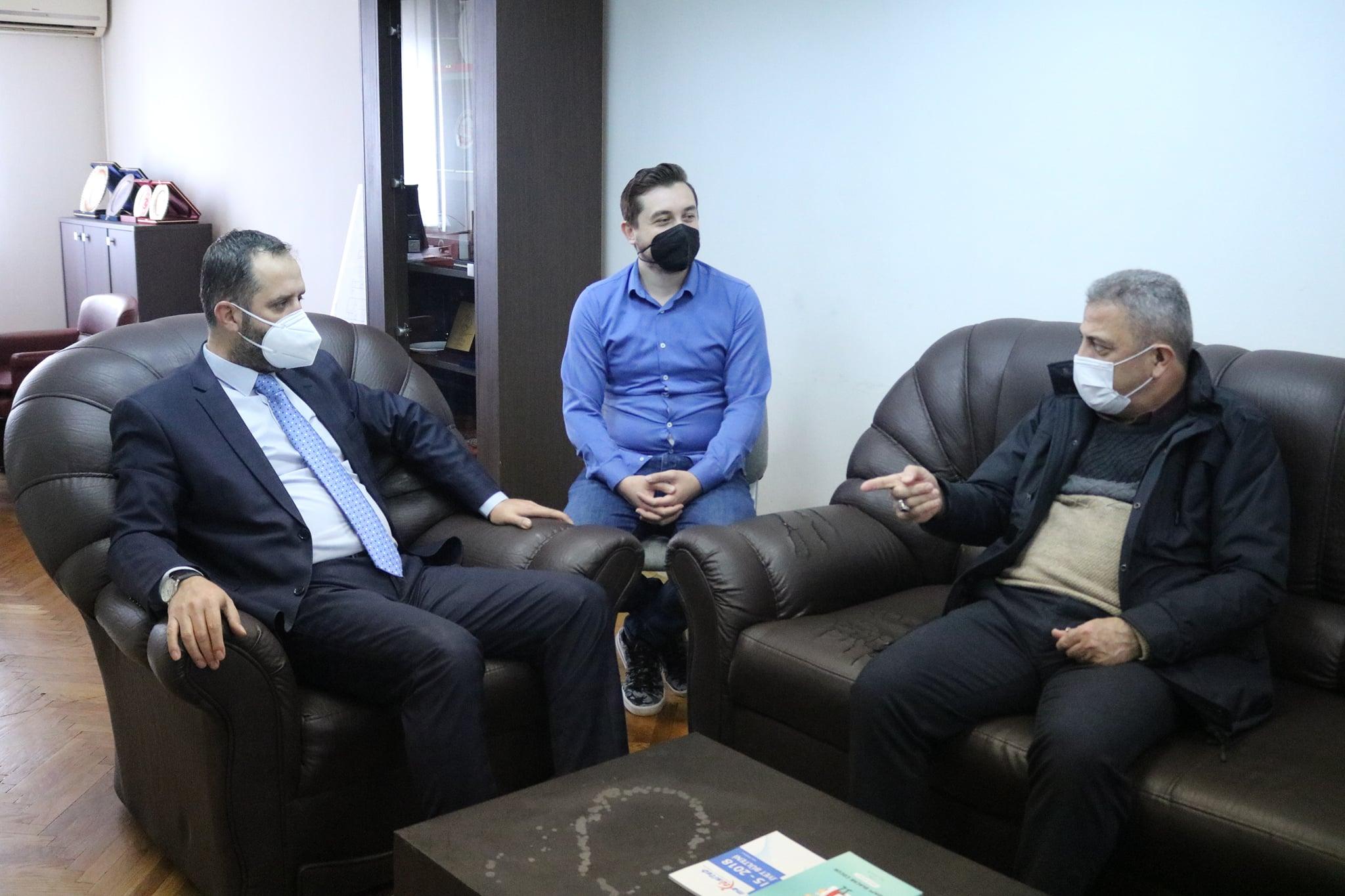 YTB Başkan Yardımcısı Sayit Yusuf'tan MATÜSİTEB'e ziyaret