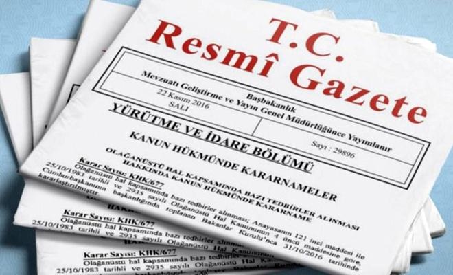Türkiye ile Arnavutluk arasında imzalanan Milletlerarası anlaşma, Resmi Gazete'de yayımlandı