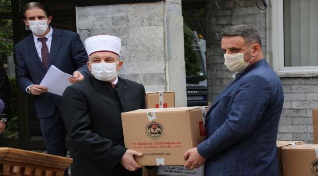 Vakıflar Genel Müdürlüğü Kuzey Makedonya'da 80 ton ramazan yardımı dağıtacak