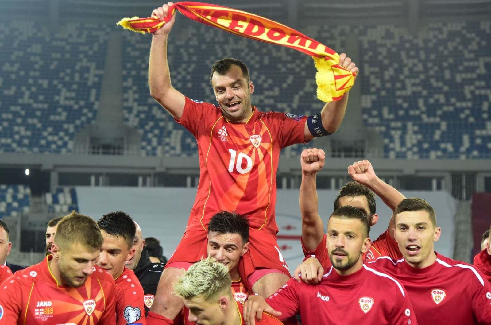 Goran Pandev Makedonya forması ile son maçına çıkıyor