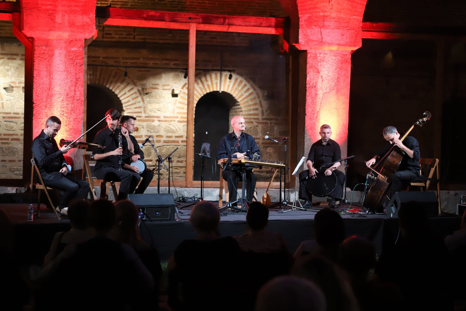 Cengiz İbrahim, Kurşunlu Han'da konser verdi