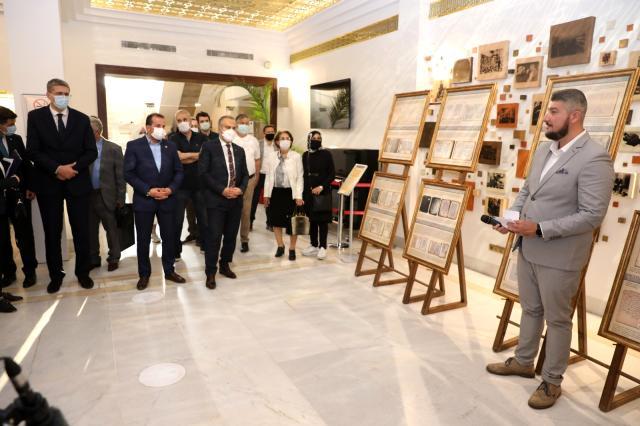 """Bursa'da """"Osmanlı Dönemi Bosna Edebi Eserleri Sergisi"""" açıldı"""