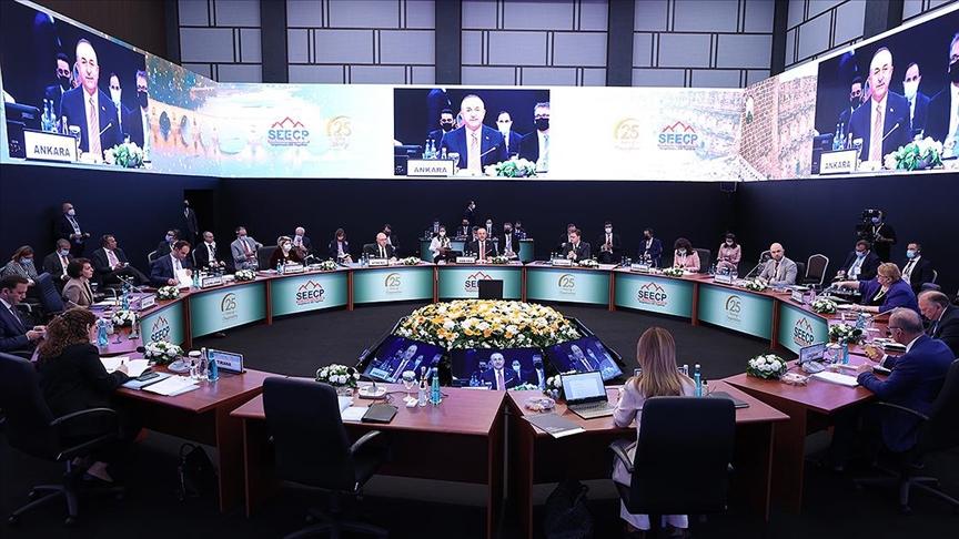 Güneydoğu Avrupa İşbirliği Süreci Zirvesi Dışişleri Bakanları Toplantısı Antalya'da başladı
