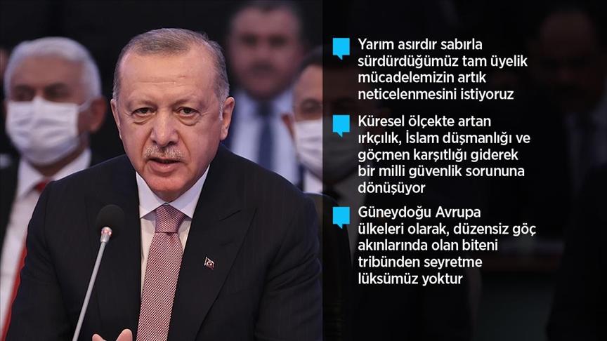 """""""Türkiye'nin tam üye olarak yer almadığı bir AB'nin çekim ve güç merkezi olması mümkün değildir"""""""