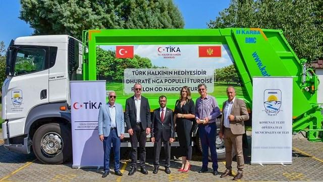 TİKA'dan Karadağ'ın çevre düzenlemesine destek