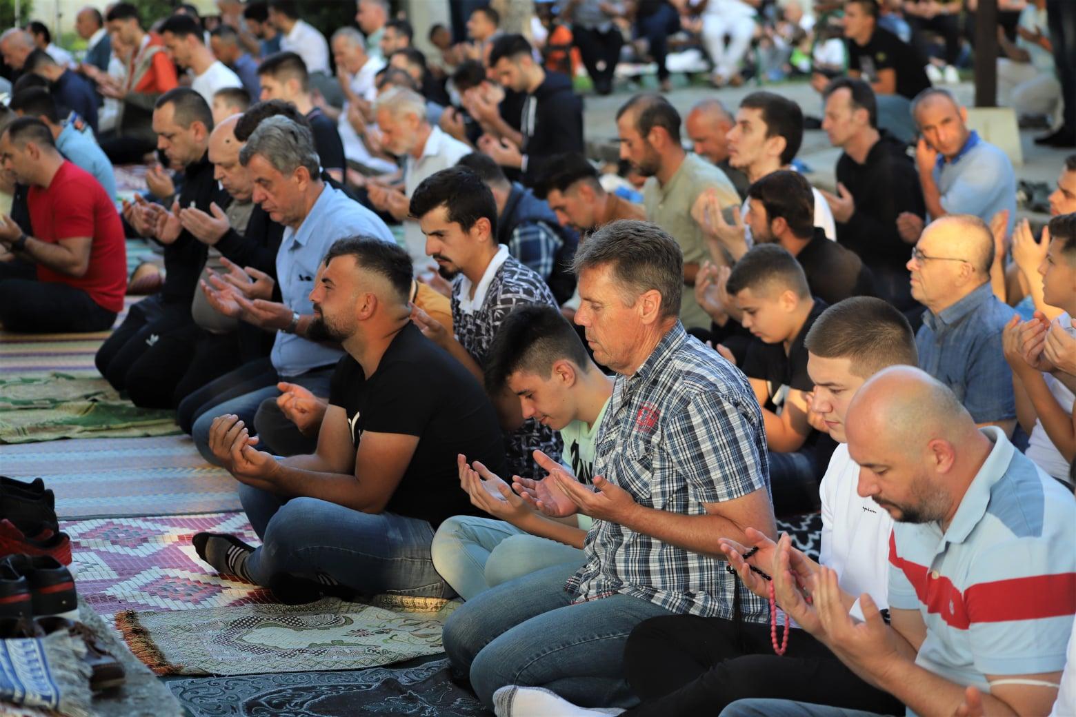 Kuzey Makedonya'da Kurban Bayramı coşkusu