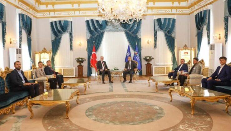 Kosovalı Türk Bakan Damka ve Mamuşa Belediye Başkanı Krasniç Bursa'da