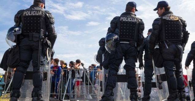 Hırvat polisler Türkçe öğrenecek
