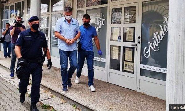 Hırvatistan'da kaza yapan şoför savcılığa çıkarıldı