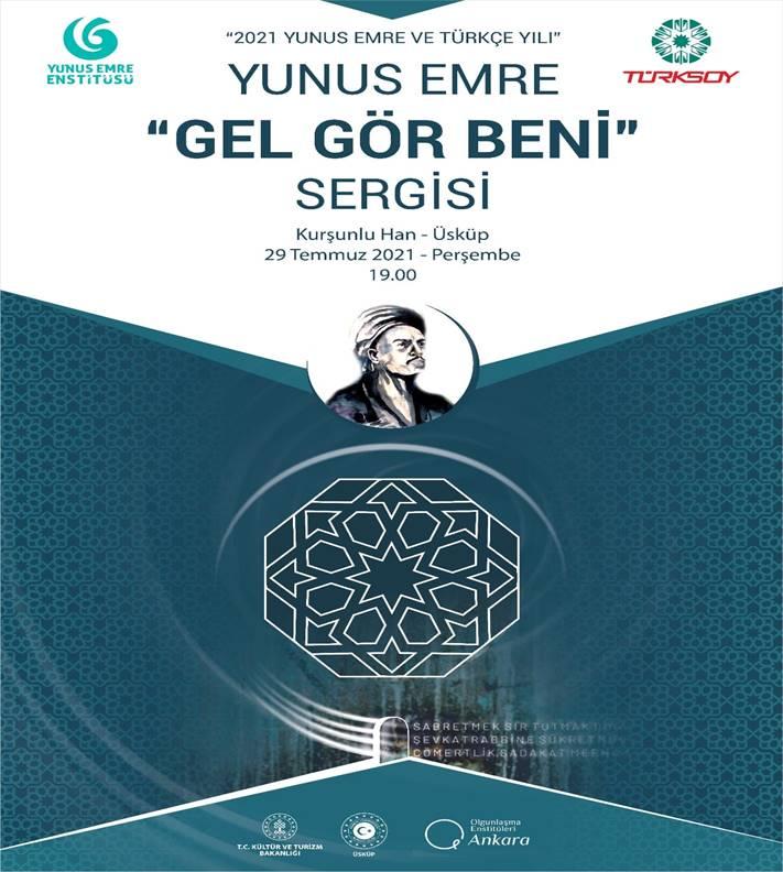 """TÜRKSOY ve YEE Üsküp'te """"Yunus Emre"""" etkinliği düzenleyecek"""