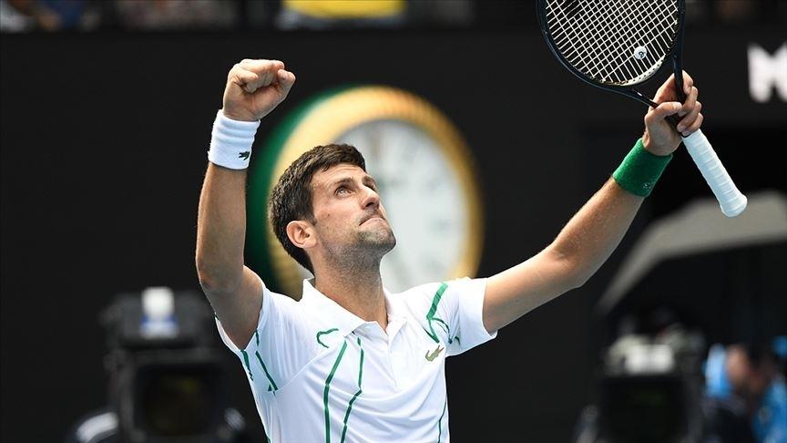 Sırp tenisçi Djokovic, 2020 Tokyo Olimpiyat Oyunları'nda yarı finale yükseldi