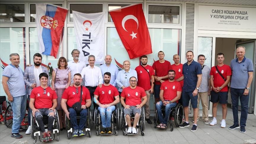 TİKA, Sırbistan Tekerlekli Sandalye Basketbol Federasyonunun ofisini yeniledi
