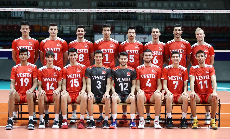 Türkiye 18 Yaş Altı Erkek Milli Voleybol Takımı Balkan Şampiyonası'nda mücadele edecek