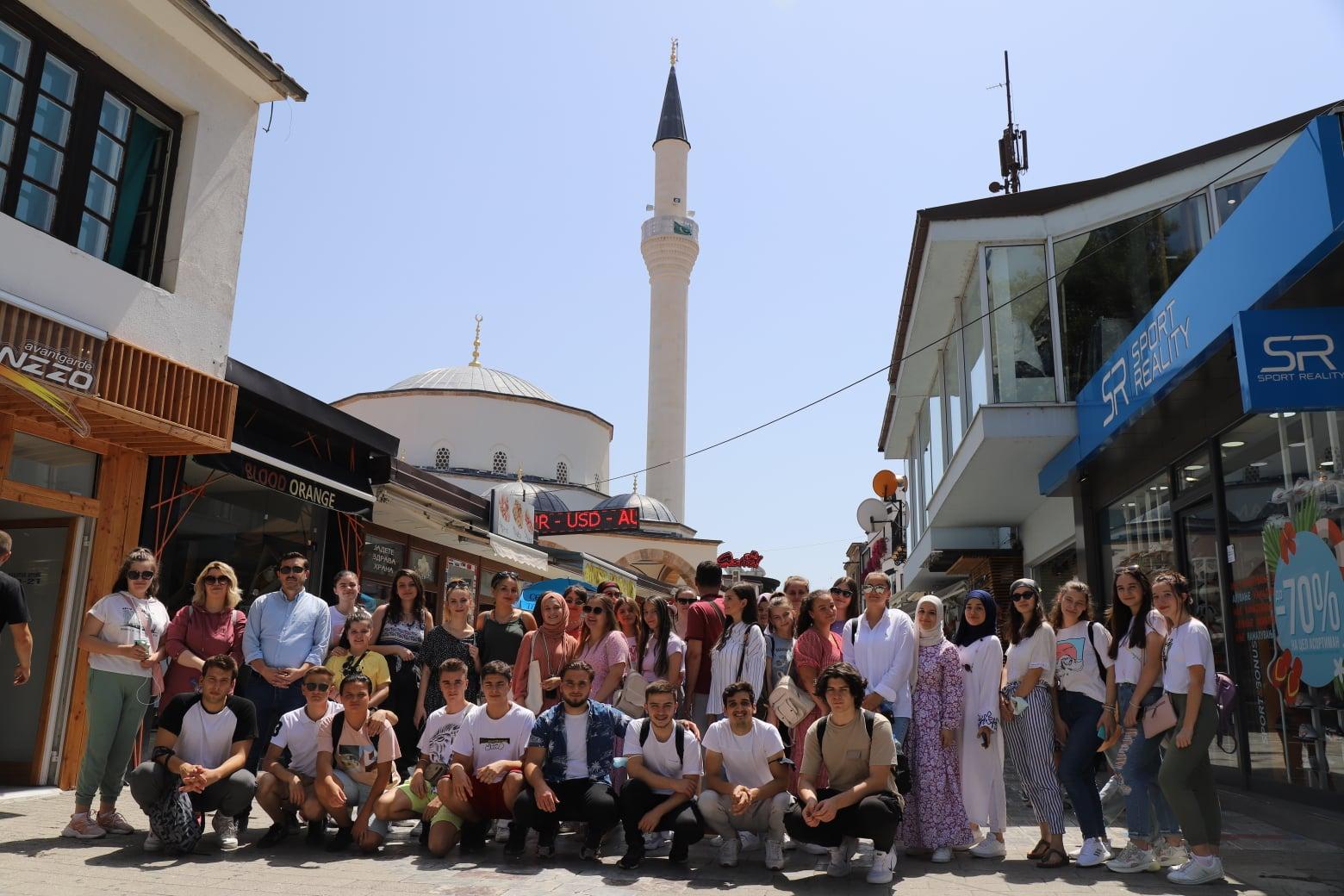Köprü Gençlik Okulu öğrencilerinden Makedonya gezisi