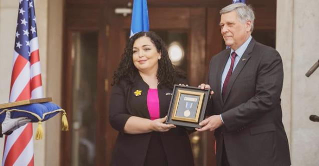 Kosova'dan ABD Başkanı Biden'ın müteveffa oğluna madalya