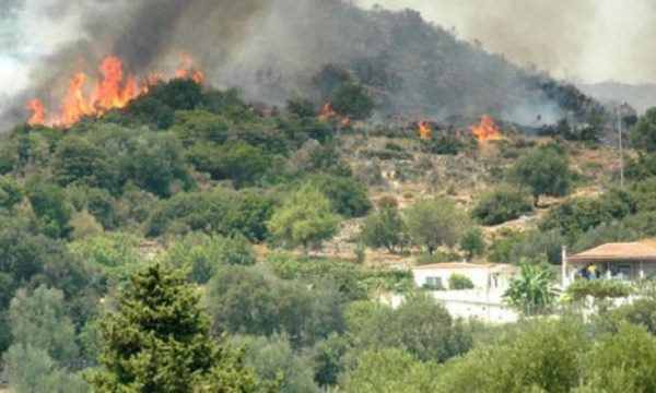 Kosova'da orman yangınları devam ediyor
