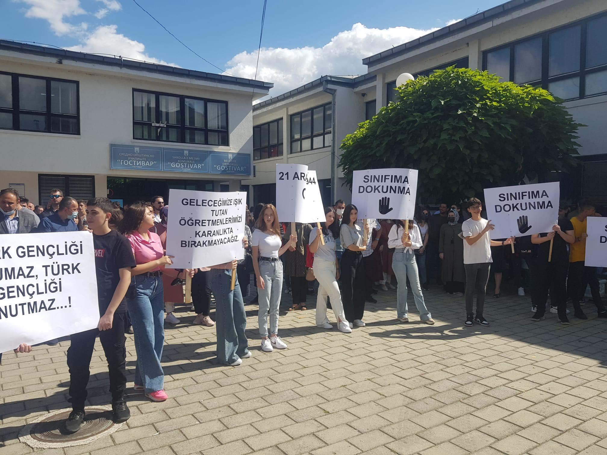 Gostivar'daki Türkçe sınıf sıkıntısı çözüme kavuştu