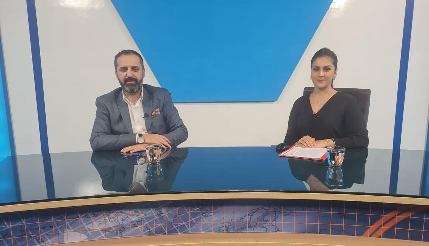 """MATÜSİTEB Genel Başkanı Emin, EDO Tv'nin """"Kompromis"""" programına konuk oldu"""