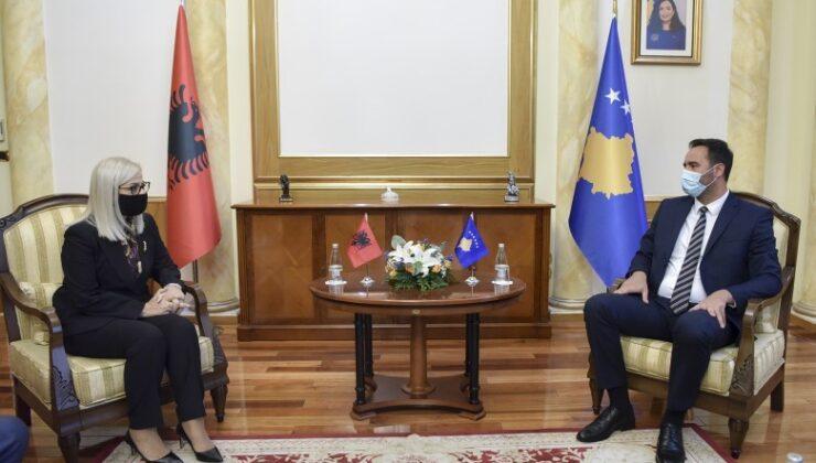 Kosova ile Arnavutluk Meclis Başkanları görüştü