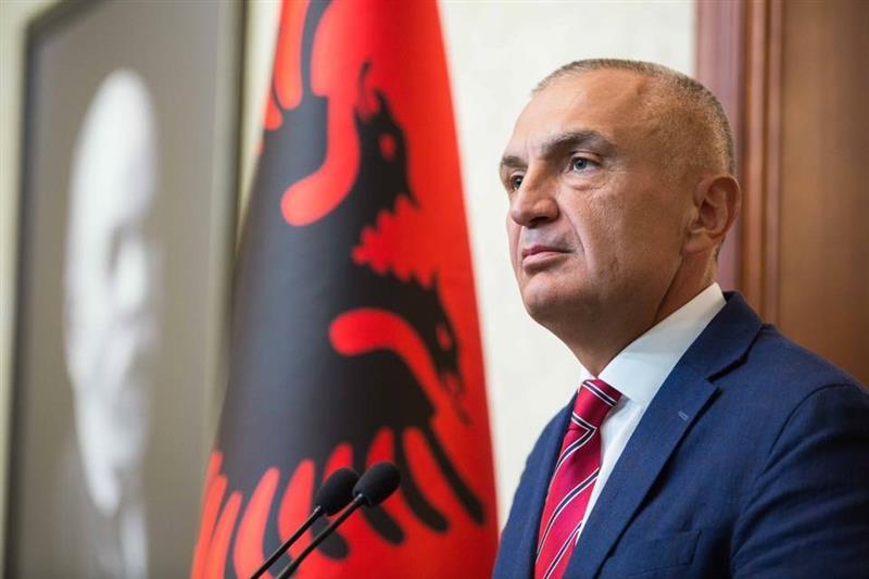 Arnavutluk Cumhurbaşkanı Meta: Düşüncelerim ve dualarım Kalkandelenle