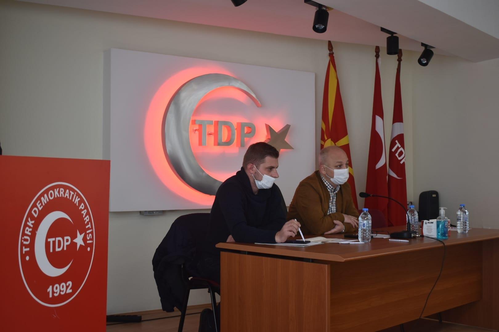 TDP MYK'sı yerel seçimleri değerlendirdi