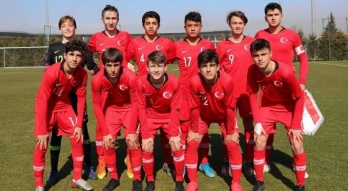Türkiye ile Kuzey Makedonya 15 Yaş Altı Futbol Milli Takımları karşılacak