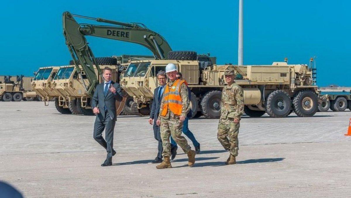 ABD'den Yunanistan'a askeri sevkiyat