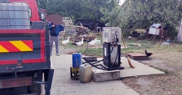 Sırbistan'da polisi şaşırtan olay: Bahçesine kaçak yakıt istasyonu kurmuş