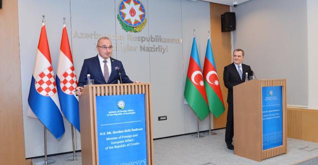 Hırvatistan, Azerbaycan'la ilişkilerini geliştirmeyi hedefliyor