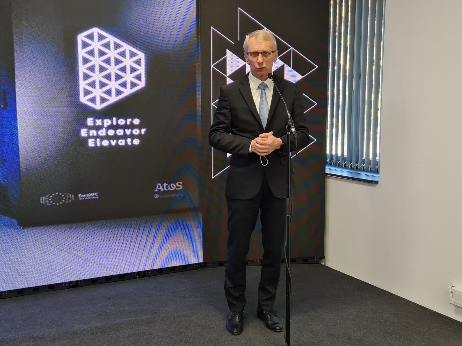 Bulgaristan'da inşa edilen en yeni peta ölçekli süper bilgisayar törenle hizmete girdi