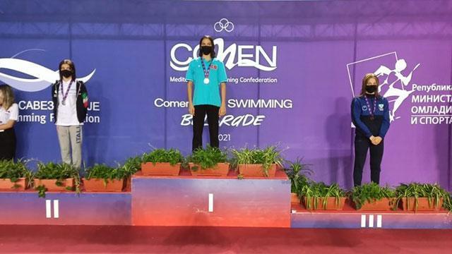 Türk yüzücülerden Sırbistan'da 5'i altın 18 madalya