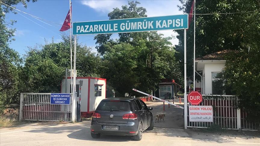 Yunanistan'a açılan Pazarkule Sınır Kapısı modernize edilecek