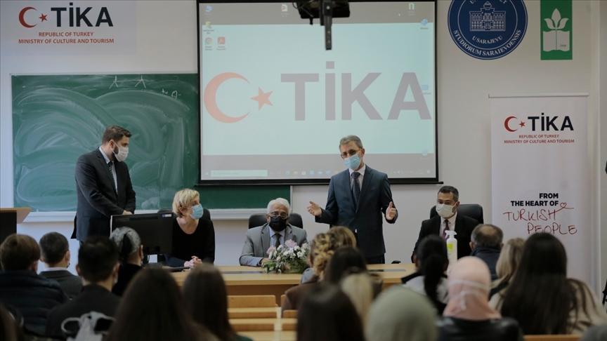 TİKA, Saraybosna Üniversitesi Ziraat ve Gıda Fakültesinin amfi tiyatrosunu yeniledi