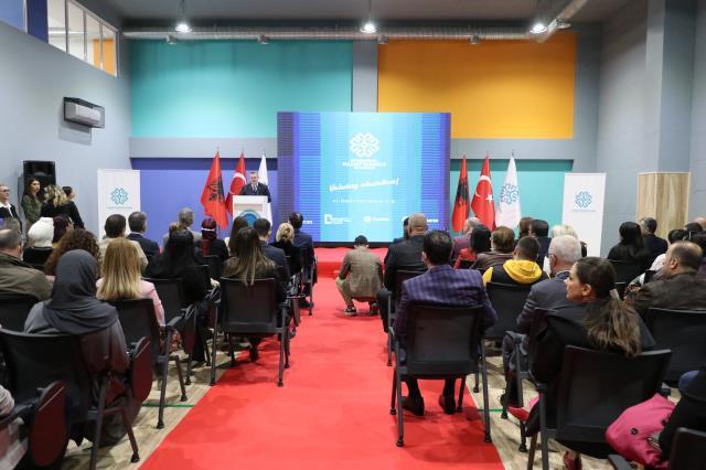 TMV'nin Arnavutluk'taki okulları yeni öğretim yılı için tören düzenledi